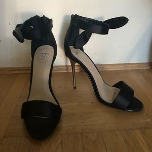Missguided black pumps